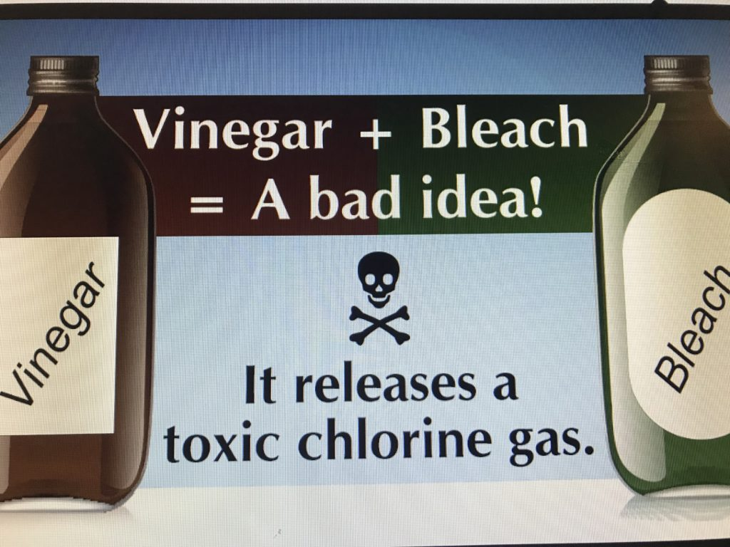 Using Bleach And Vinegar For Cleaning Helpful Home