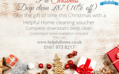 New cleaning vouchers available – The perfect gift of time